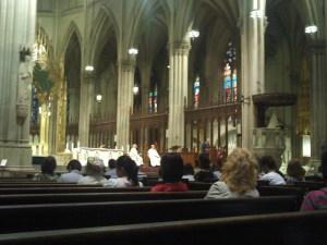 ny st patrick's mass