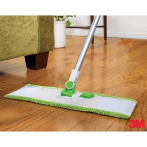 Ahhh....the Scotchbrite microfiber floor mop!