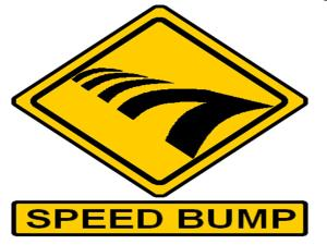 speed bump 2