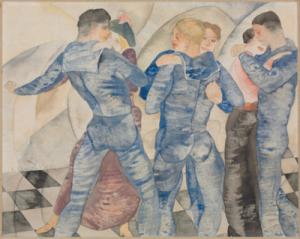 charles demuth dancing sailors