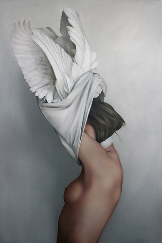 Reborn by Amy Judd - Oil on Canvas