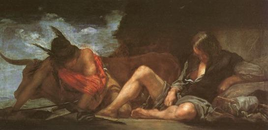 Hermes and Crocus