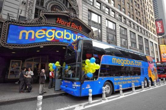 NYC megabus