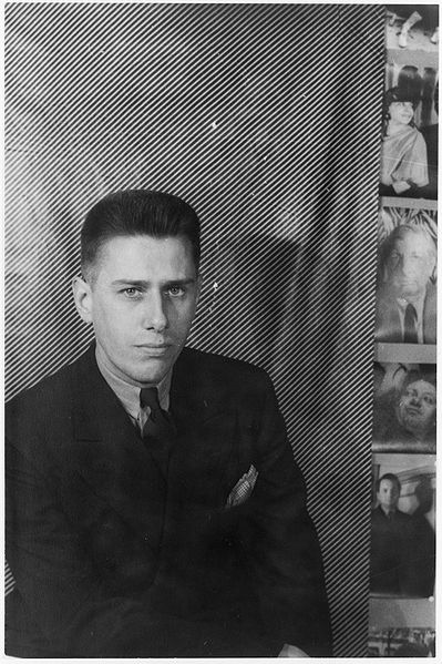 Paul Cadmus as photographed by Carl van Vechten