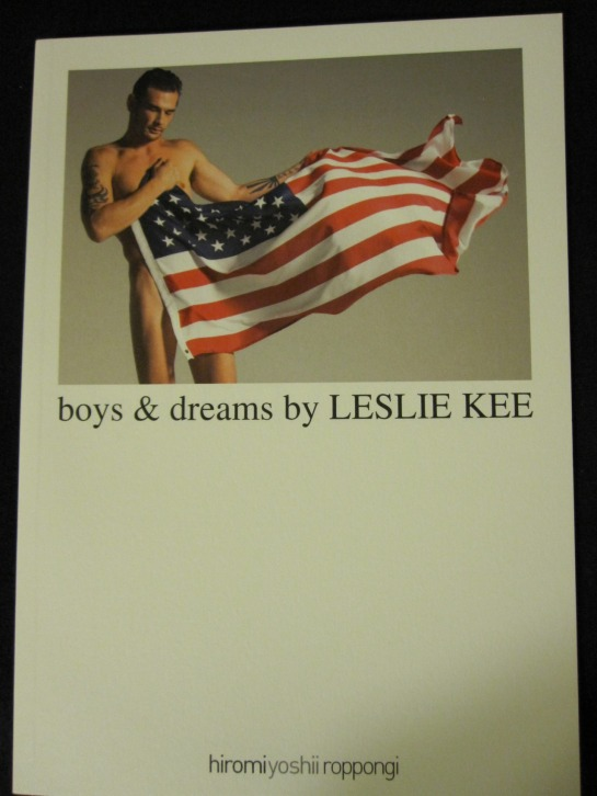 Boys & Dreams Leslie Kee cover