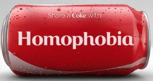 Coke homophobia