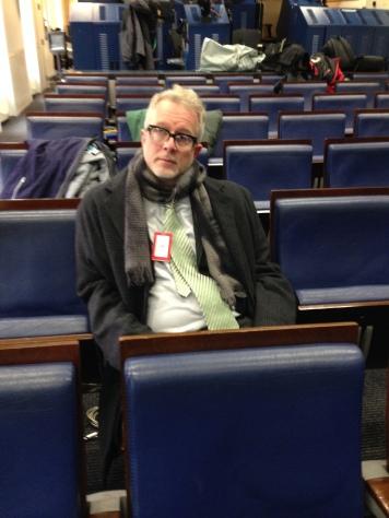 DC Jan 2014 3 NY Times Press Seat at White House