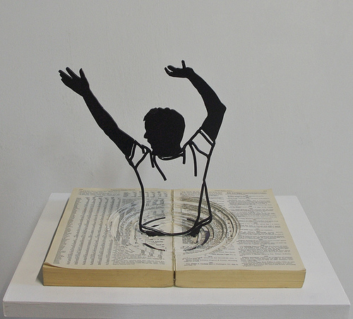 drowning in words