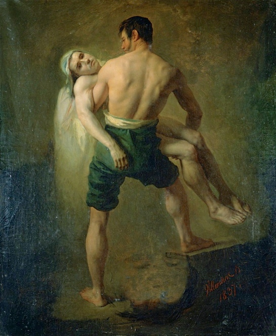 Les Inondes de Tounis by Jean Blaise Villemsens, 1837