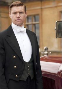 Matt Milne as Alfred in Downton Abbey