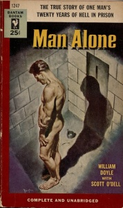 Man Alone Pulp Cover