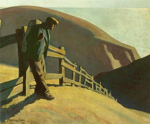 "Maynard Dixon, ""Nowhere To Go"""