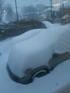My car, long around 8a.m.