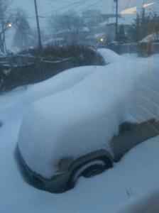 My car, long around 8a.m.
