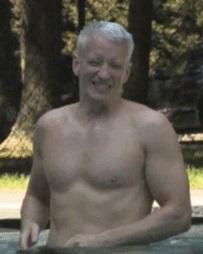 Me. I mean - Anderson Cooper.