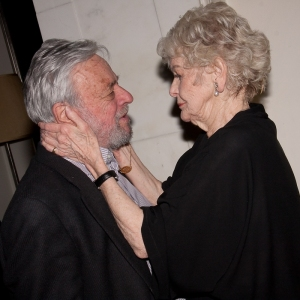 Stephen Sondheim and Elaine Stritch
