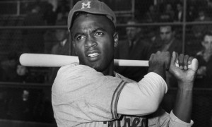 Jackie Robinson April 1947