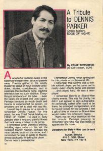 Dennis Parker