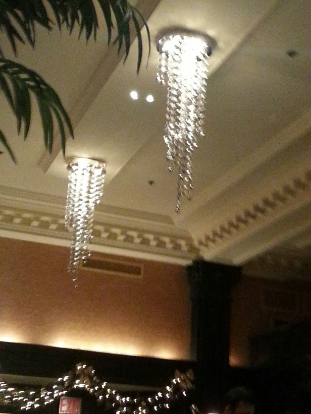 The Algonquin-Marriott's anal bead chandeliers