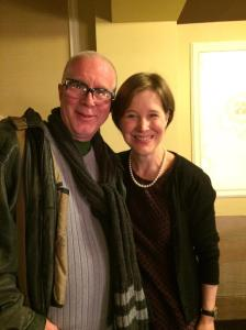 Ann Pachett and Charlie
