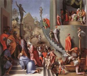 Pontormo joseph-with-jacob-in-egypt-pontormo-1518