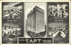 Hotel Taft, Seventh Avenue At 50th Street New York