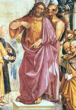 The-Preaching-of-the-Antichrist-detail-of-Christ-and-the-Devil-from-the-Chapel-of-the-Madonna-di-San-Brizio-1499-1504-xx-Luca-Signorelli